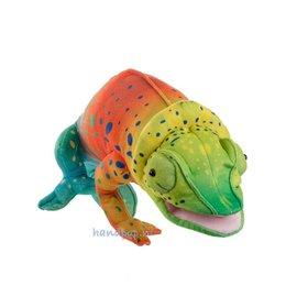 The Puppet Company handpop kameleon