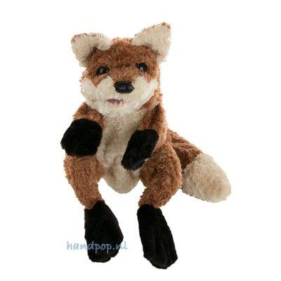 Folkmanis handpop vos zittend