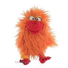 Living Puppets handpop birdmail Happy oranje