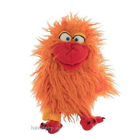 Living Puppets Handpop vogel 'Happy' kan een boodschap komen brengen