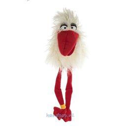 Living Puppets handpop birdmail Sorry wit