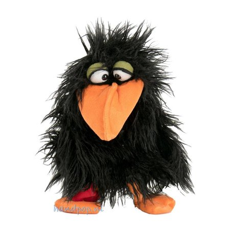 Living Puppets Handpop vogel 'Thank you' kan een bedankje komen brengen.