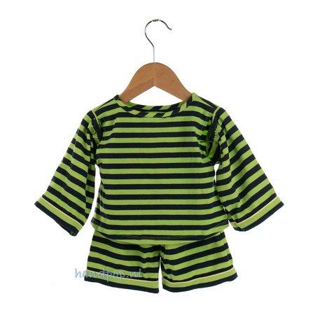 Living Puppets Pyjama blauw/groen voor grote menspop