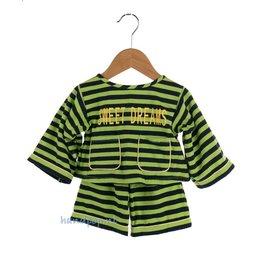 Living Puppets Pyjama 65 cm blauw/groen