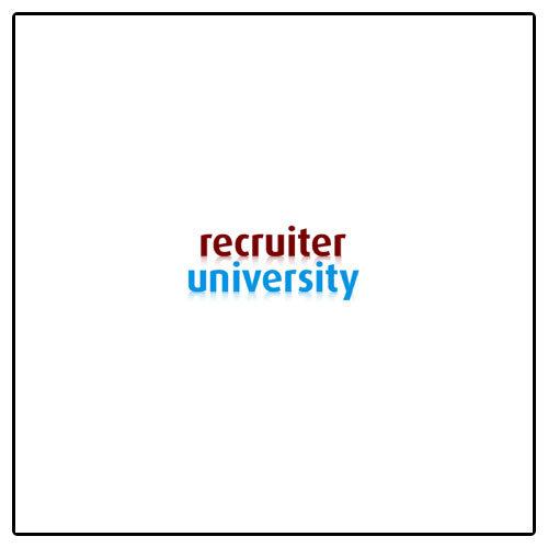Recruiter University Masterclass ICT Recruitment