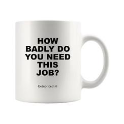 """Mok """"How badly do you need this job?"""""""