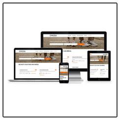 Werken-bij website op basis van template