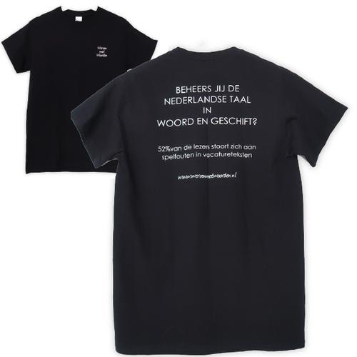 """Voor Tekst Tshirt """"Spelfouten"""""""