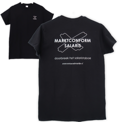 "Tshirt ""Marktconform Salaris"""