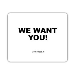 "Muismat: ""We want you!"""