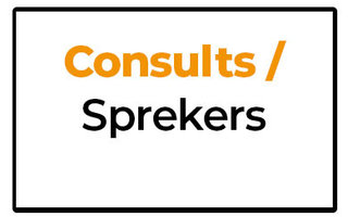 Consults / Sprekers