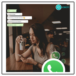 WhatsApp solliciteer chatbot