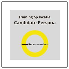 Training Candidate Persona (op locatie)
