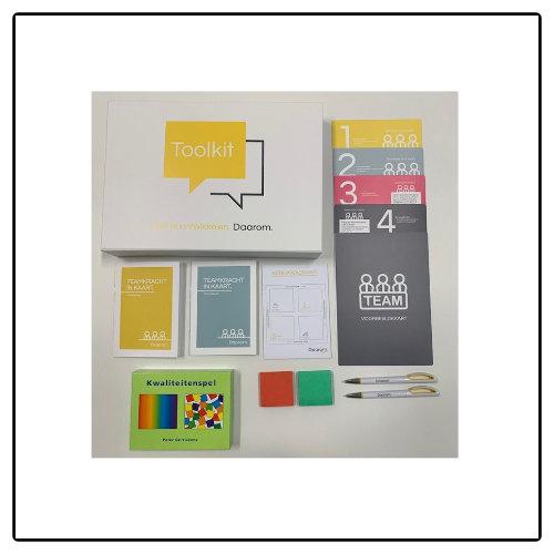 Daarom Organisatieontwikkeling BV Toolkit Teamkracht in kaart (met facilitator)