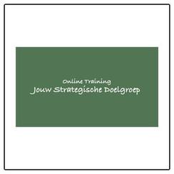 Online Training: Jouw Strategische Doelgroep