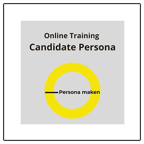 Personamaken.nl Online training Candidate Persona