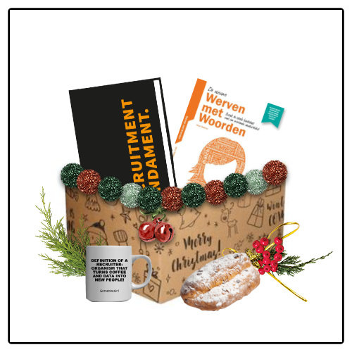Getnoticed PRE-ORDER: Het Recruitment Kerstpakket