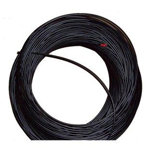 Kabel SP40, derailleur buitenkabel, zwart, 4mm, per meter