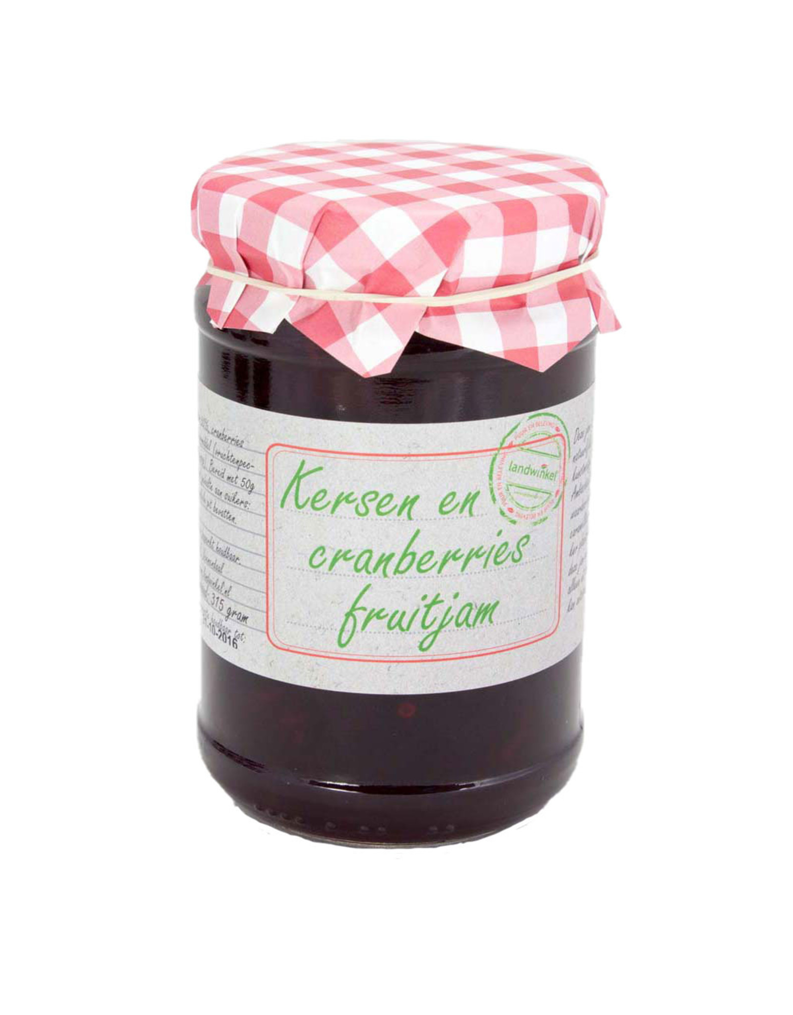 Kersen cranberry fruitjam 315 gr