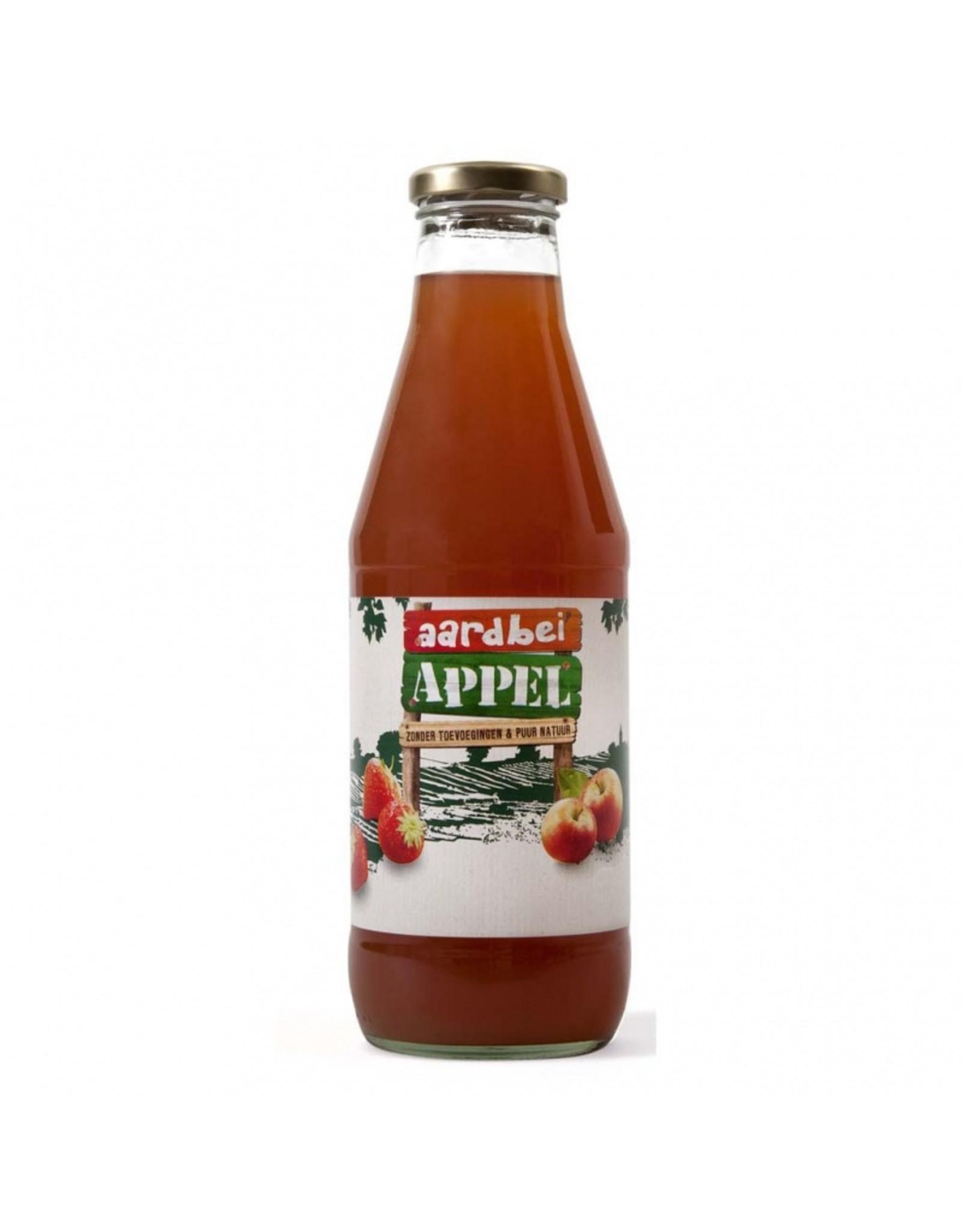 Appel aardbeiensap 0,75 ltr