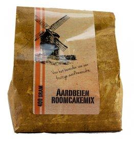 Aardbeienroom cakemix