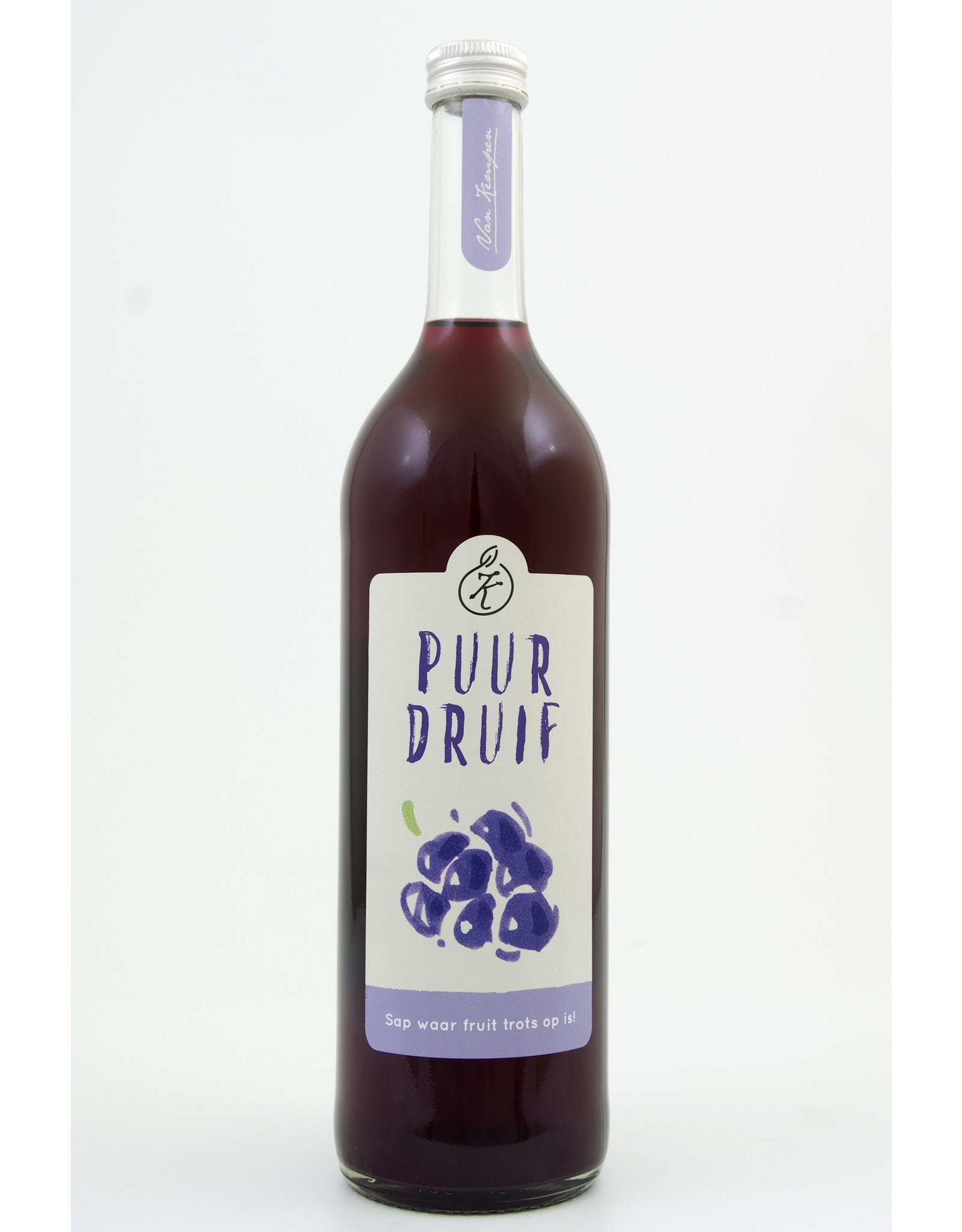 Van Kempen Puur druif sap 0,75 liter