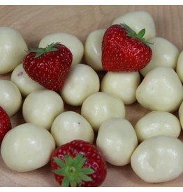 Aardbei yoghurt chocolade 200 gram