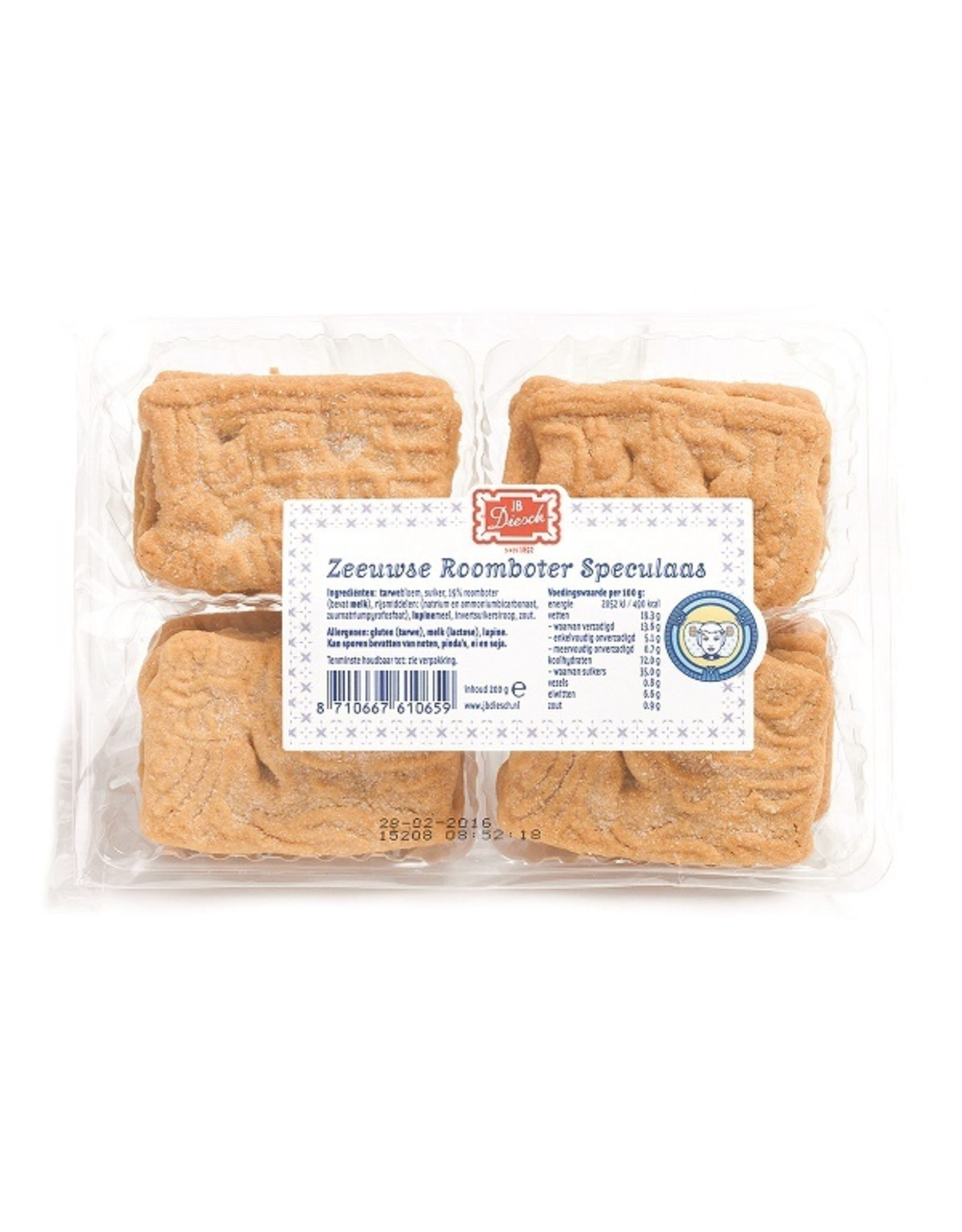 Zeeuwse roomboter speculaas.
