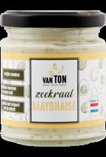 Zeekraal mayonaise.