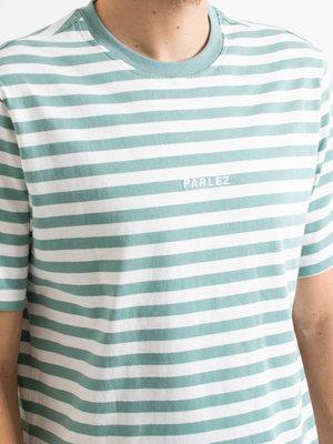 PARLEZ PARLEZ Ladsun Heavy Stripe T-Shirt Sage