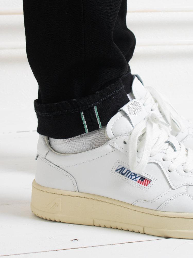 Edwin Jeans Edwin Jeans Slim Tapered Kaihara Selvage Black x Black Stretch Black Dark Used