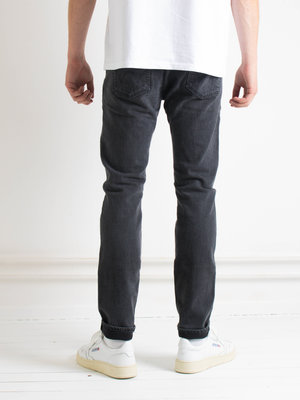 Edwin Jeans Edwin Jeans Slim Tapered Kaihara Selvage Black x Black Stretch Black Mid Used