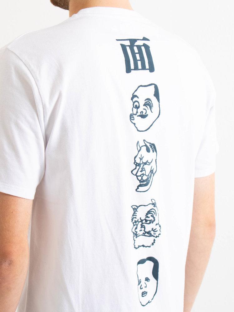 Edwin Jeans Edwin Jeans Hokusai Noh Masks TS White Washed