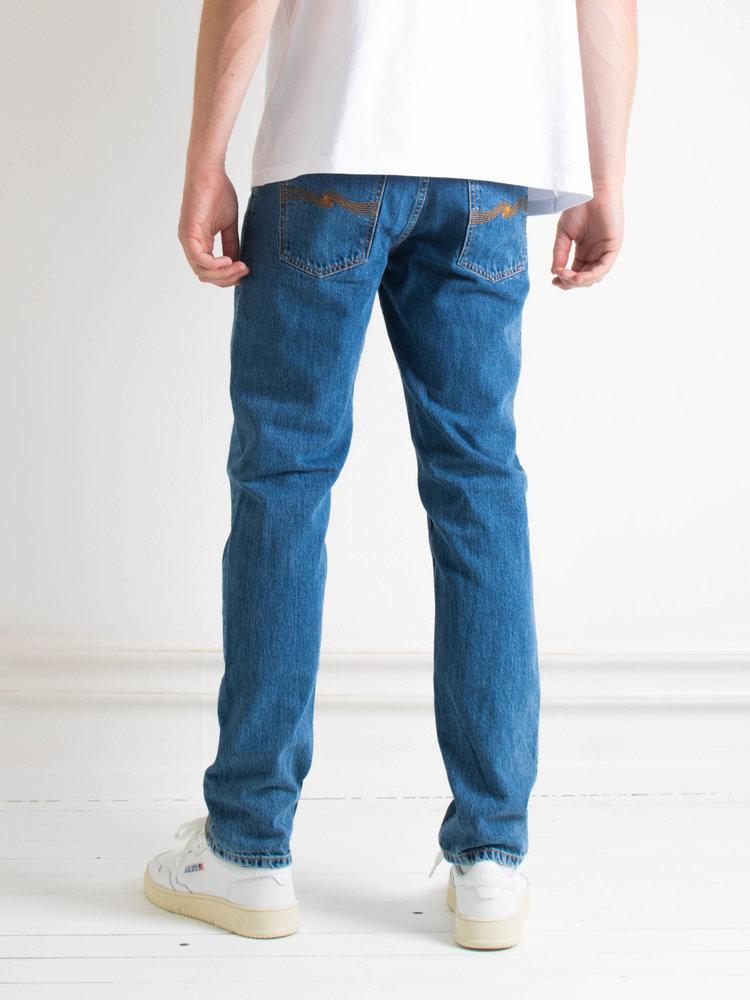 Nudie Jeans Nudie Jeans Steady Eddie II Friendly Blue