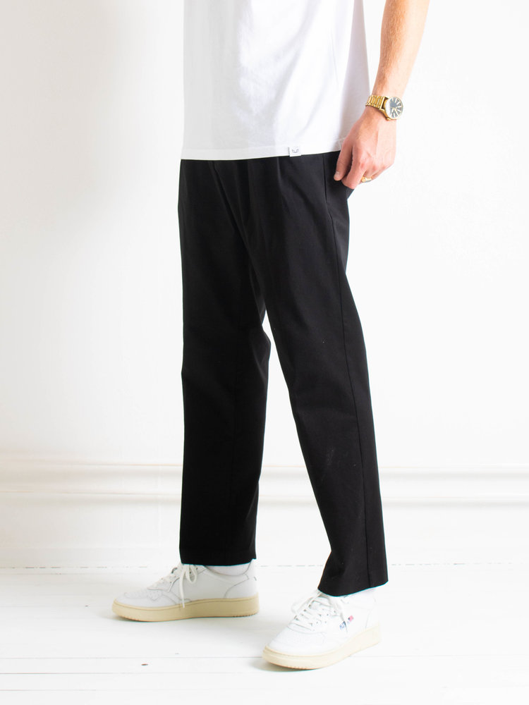 Samsøe Samsøe Samsøe Samsøe Lincoln wide trousers Black