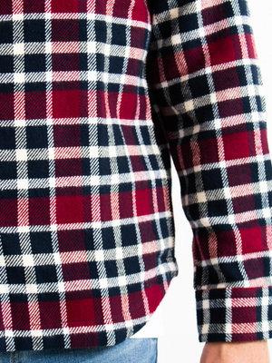 Knowledge Cotton Apparel Knowledge Cotton Apparel Pine Checked Overshirt Codovan