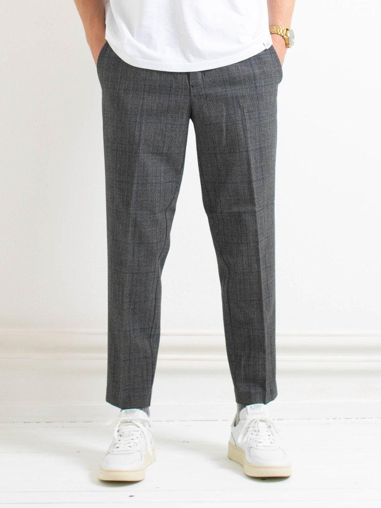 Samsøe Samsøe Samsøe Samsøe Samsøe Samsøe Agnar trousers Grey Melange Checked