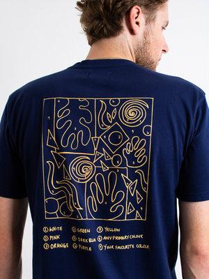 Castart Castart Matisse T-Shirt Navy Blue