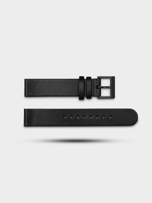 INSTRMNT INSTRMNT Leather Strap Black/Black