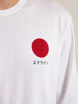Edwin Jeans Edwin Jeans Japanese Sun Longsleeve White Washed