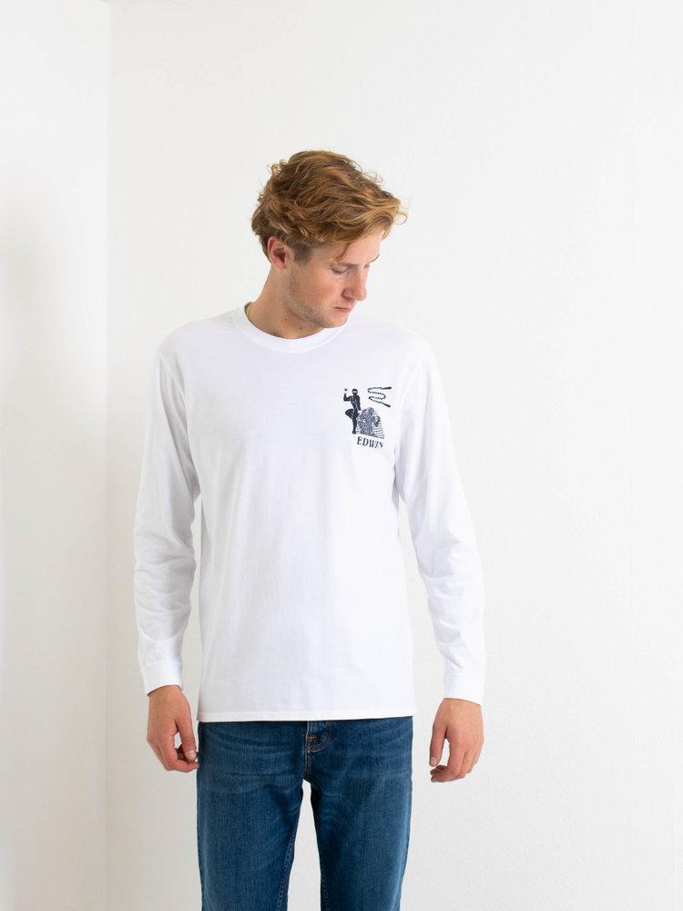 Edwin Jeans Edwin Jeans Shinobii Longsleeve White Washed