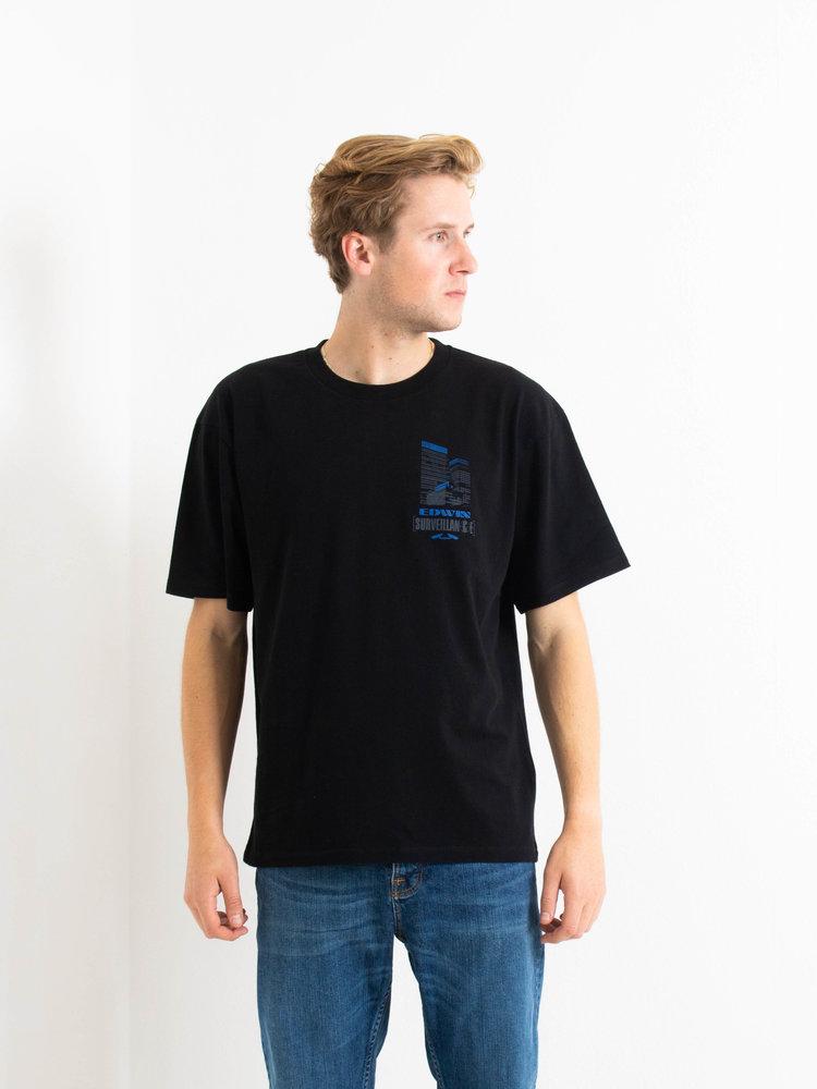 Edwin Jeans Edwin Jeans Surveillance TS Black Washed