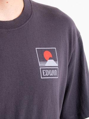 Edwin Jeans Edwin Jeans Sunset On Mt Fuji TS Ebony Washed