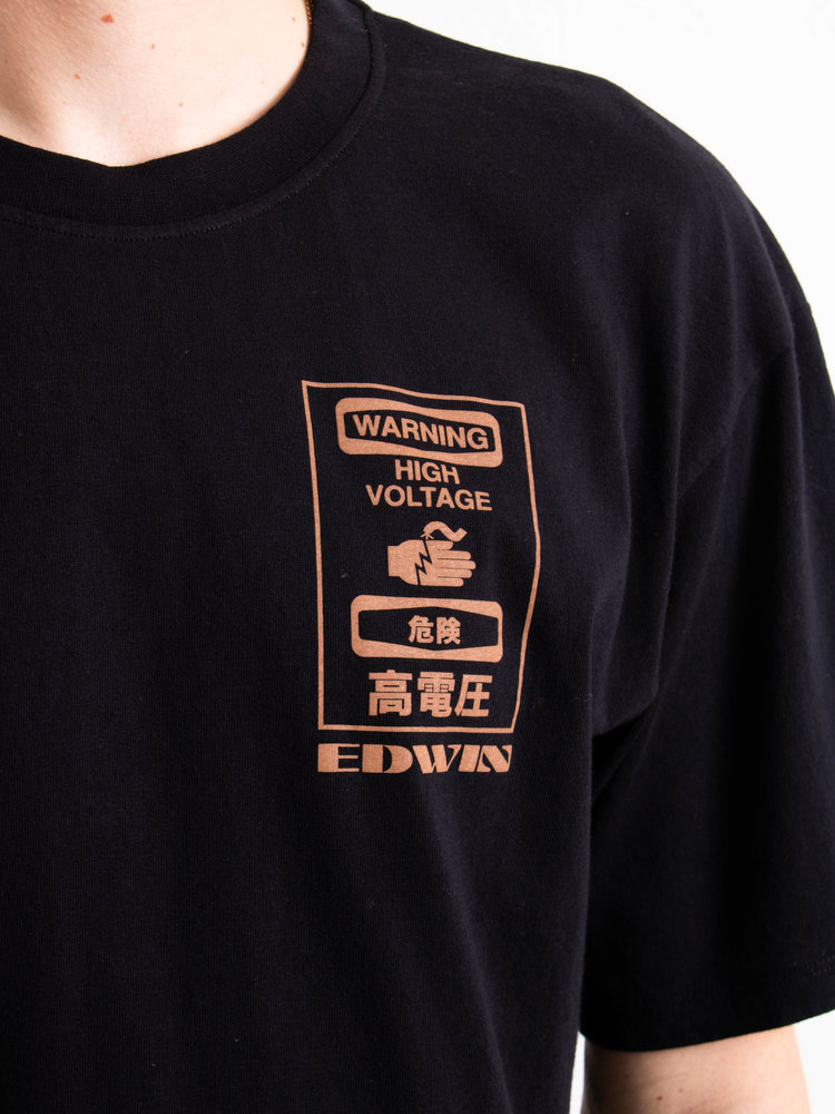 Edwin Jeans Edwin Jeans Warning TS Black Washed