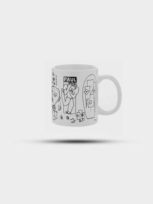 Polar Skate Co. Polar Skate Co. Doodle Mug White