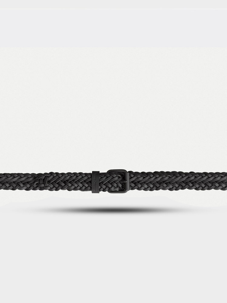 Nudie Jeans Nudie Jeans Brett Belt Braided Black
