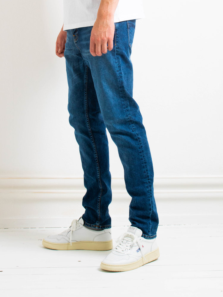 Nudie Jeans Nudie Jeans Steady Eddie II Blue Vibes