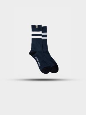 Native North Native North Striped Socks Blue/White/Navy