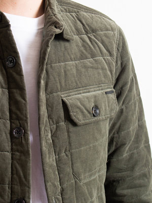 Dstrezzed Dstrezzed Shirt Jacket Babycord Dark Navy