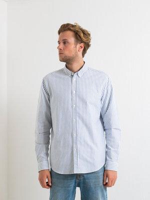 Samsøe Samsøe Samsøe Samsøe Liam BX shirt Blue White Stripe